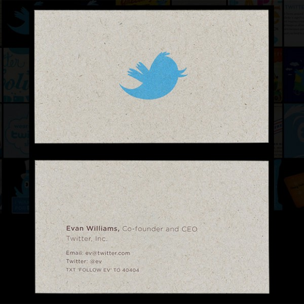 15 Stunning Business Cards from Famous People or Companies