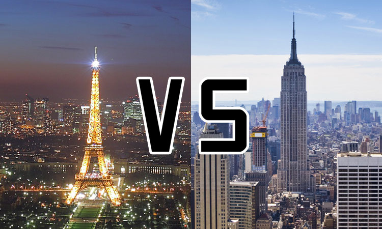 paris vs new york an artist compares the two most beautiful cities in the world creativa club. Black Bedroom Furniture Sets. Home Design Ideas