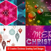 Creative Christmas Greeting Cards Desing