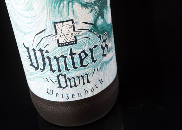 An old man on a bottle of Winter's Own (4)