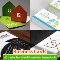 40 Most Beautiful and Creative Business Cards Design