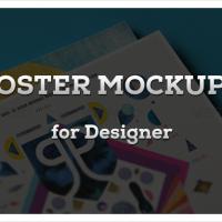 15 Poster Mockups for Designer