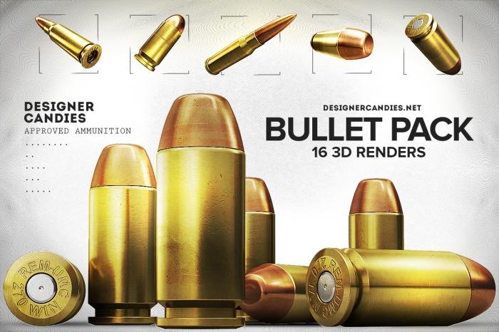 free-bullet-renders-pack