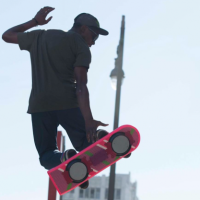 The First Real Hoverboard