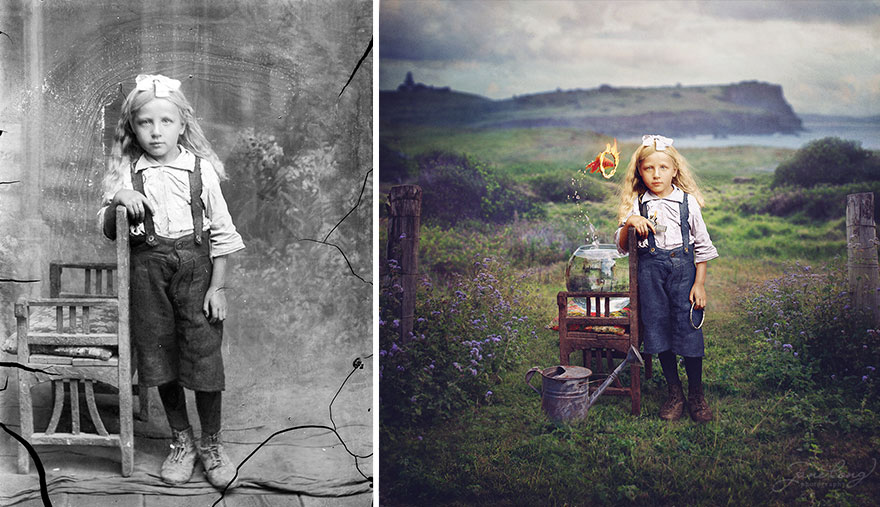 How to restore old photos in photoshop elements 7