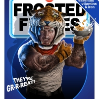 Reimagined Cereal Box Art